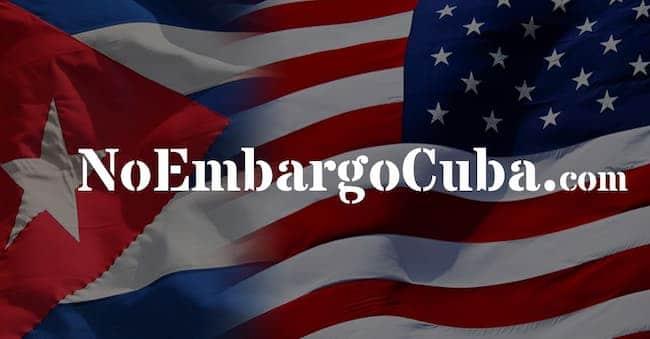 No Embargo Cuba